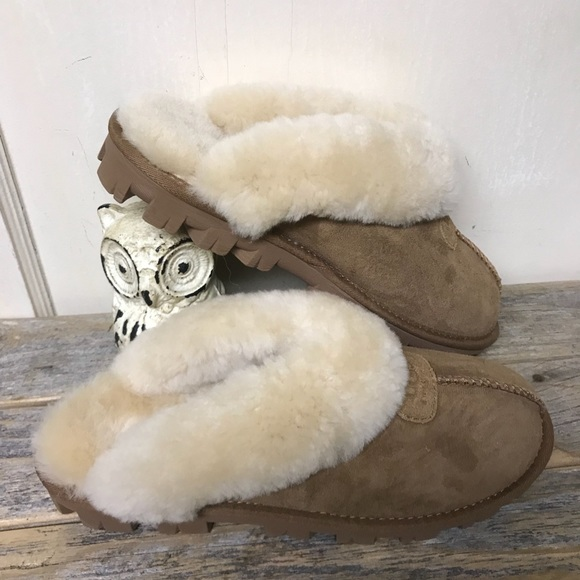 9c34ac75161 NEW!! Ugg Coquette Slippers Chestnut 9